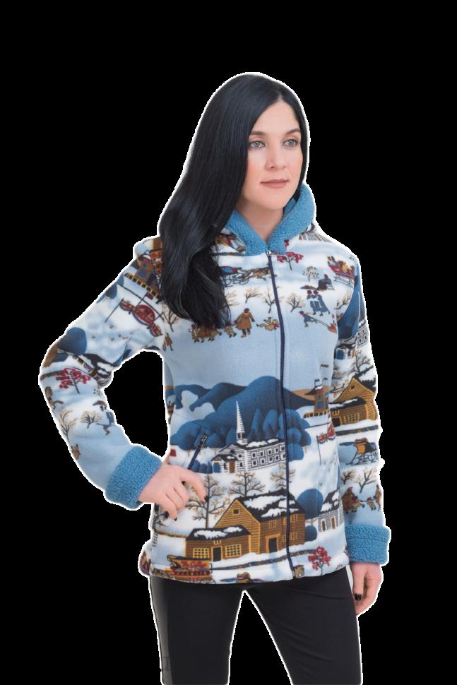 ***Куртка Памир / флис-мех / рождество ((56 / 170-176)) оптом и в розницу