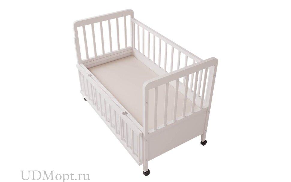 Кровать детская Фея 408 белый оптом и в розницу