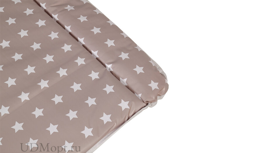 Матрас для пеленания Polini kids Звезды на комод, 77х72 см, макиато-белый оптом и в розницу
