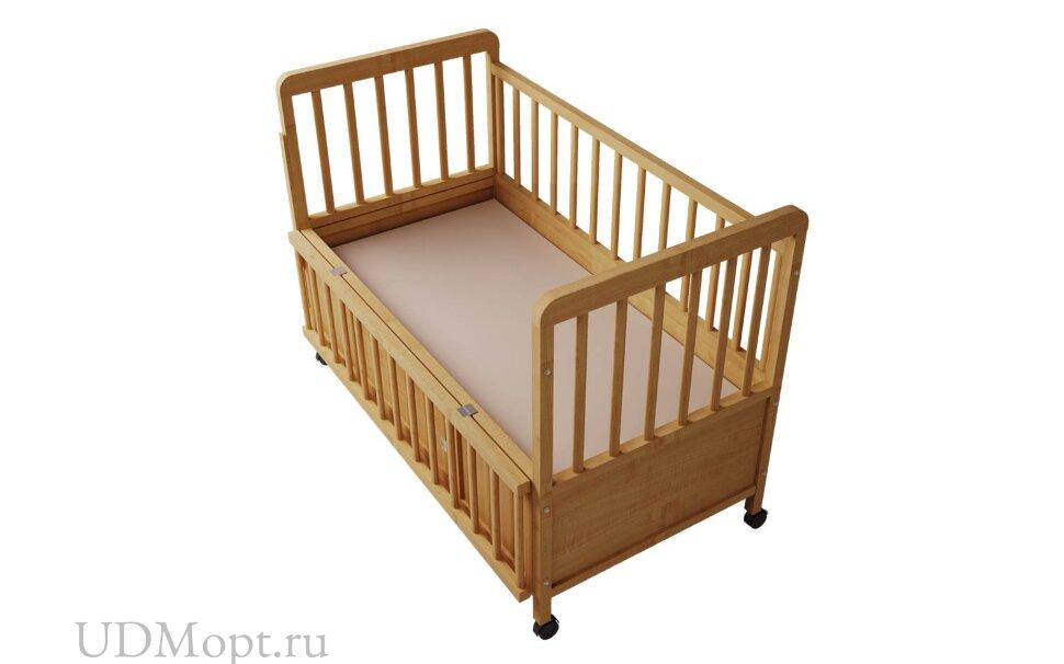 Кровать детская Фея 408 медовый оптом и в розницу