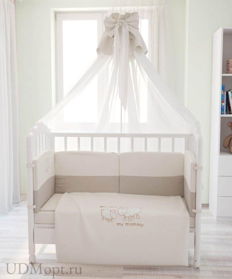 """Комплект в кроватку Fairy """"Я и моя мама""""  7 предметов оптом и в розницу"""