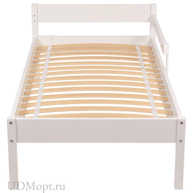 Кровать Polini Kids Simple 840, белый оптом и в розницу