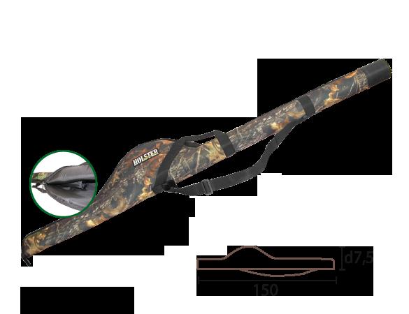 Тубус ТСК 01 75*1500 для спиннинга с катушкой / ткань синтет. оптом и в розницу
