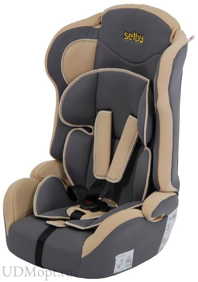 Детское автомобильное кресло Selby LC-2315 (бежевый) гр.1-2-3 оптом и в розницу