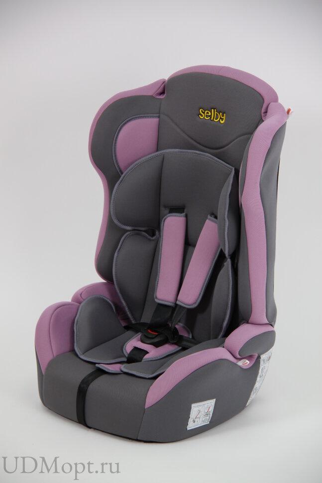 Детское автомобильное кресло Selby LC-2315 (фиолетовый) гр.1-2-3 оптом и в розницу