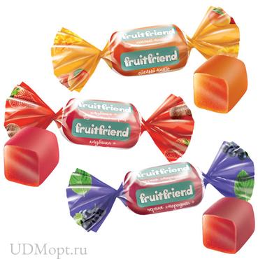 Конфета Fruit Friend (упаковка 1кг) оптом и в розницу