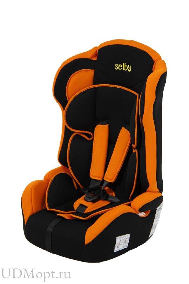 Детское автомобильное кресло Selby LC-2315 (оранжевый) гр.1-2-3 оптом и в розницу