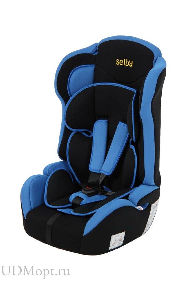 Детское автомобильное кресло Selby LC-2315 (синий) гр.1-2-3 оптом и в розницу