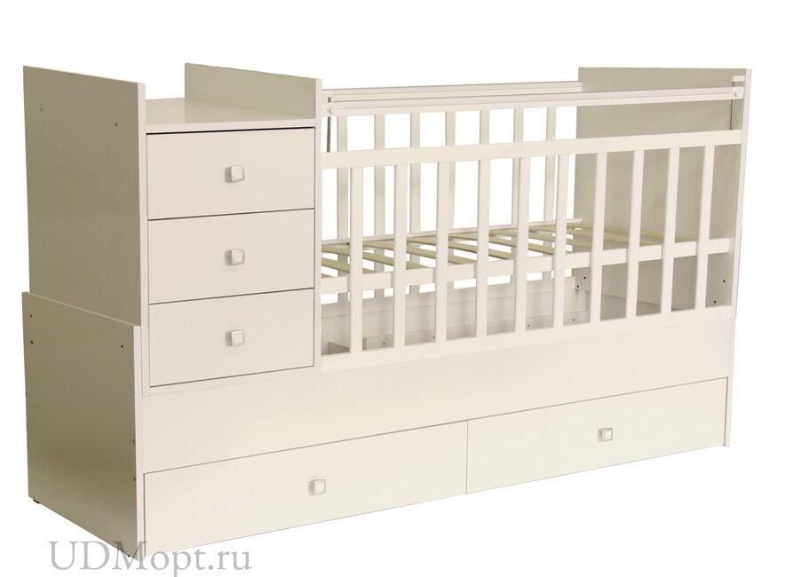 Кровать детская Фея 1000 слоновая кость оптом и в розницу