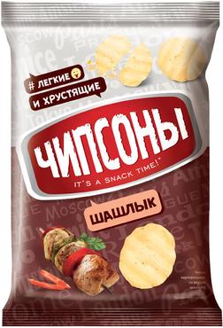 «Чипсоны», чипсы со вкусом шашлыка, 40г оптом и в розницу