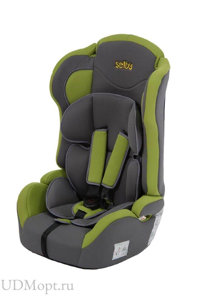 Детское автомобильное кресло Selby LC-2315 (зелёный) гр.1-2-3 оптом и в розницу