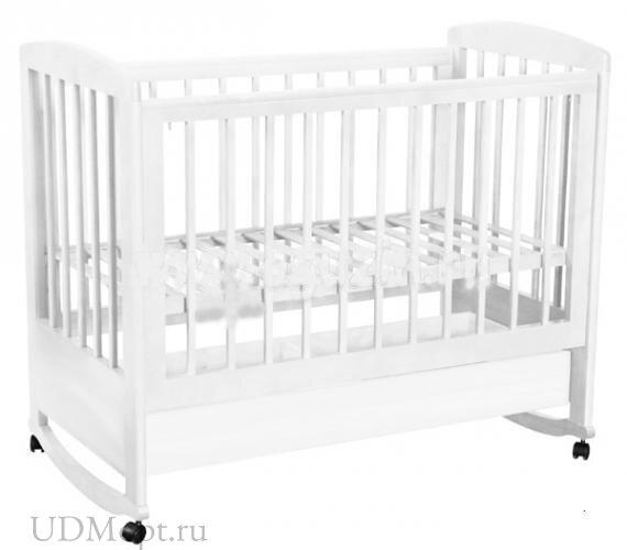 Кровать детская Фея 603 белый оптом и в розницу