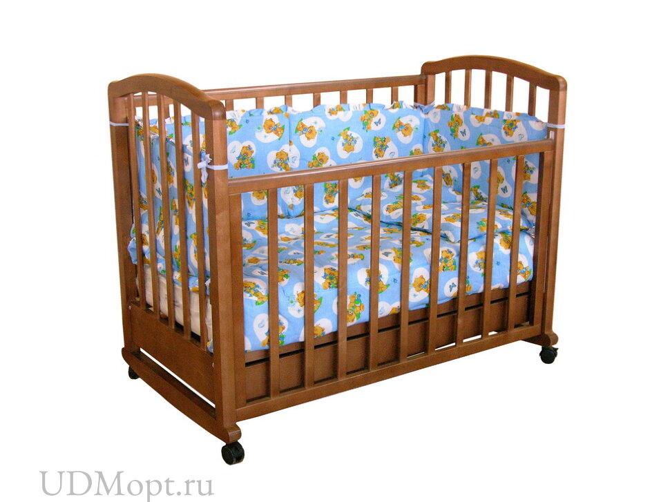 Кровать детская Фея 603 темный мед оптом и в розницу