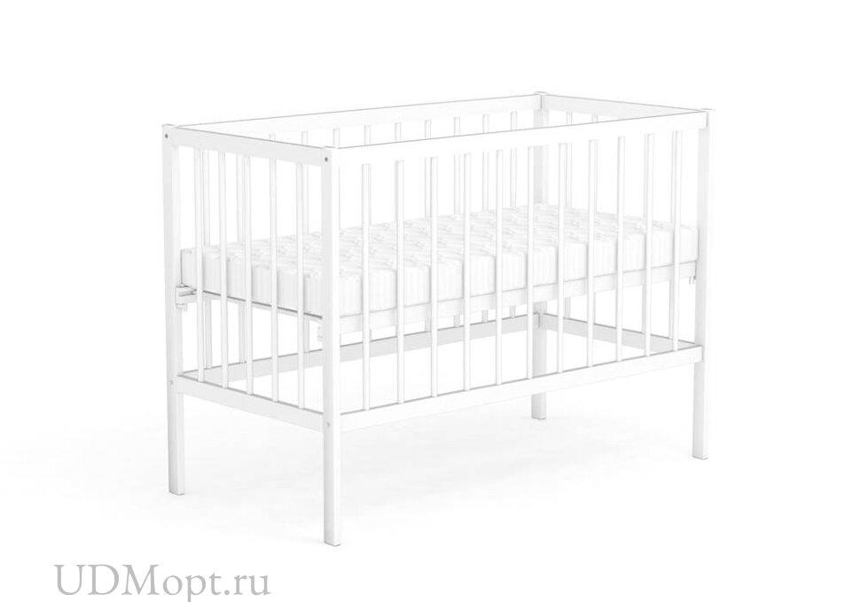 Кровать детская Фея 101 белый оптом и в розницу