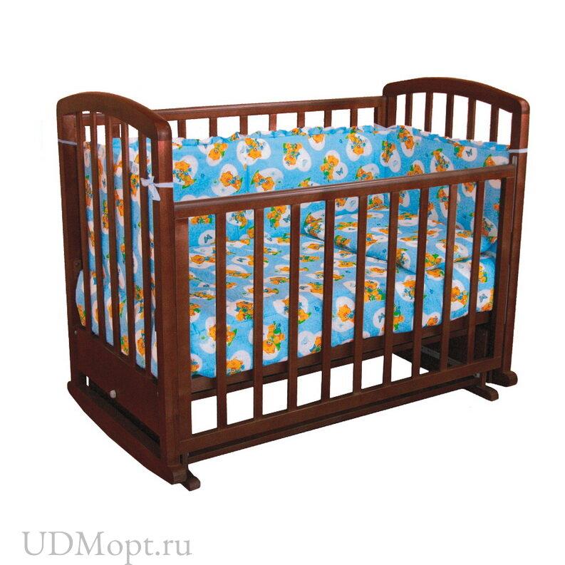 Кровать детская Фея 610 палисандр оптом и в розницу