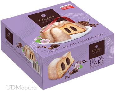 «OZera», кекс с шоколадным кремом, 520г оптом и в розницу