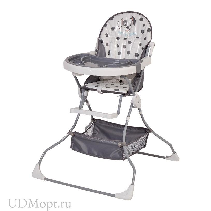 Стульчик для кормления Polini kids Disney baby 252 101 Далматинец, синий оптом и в розницу