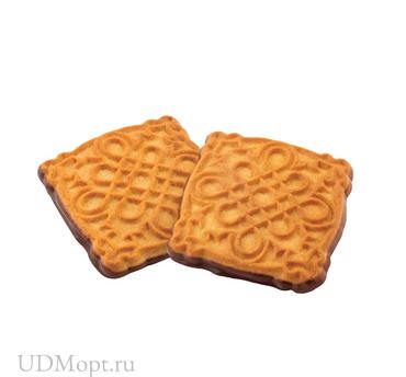 Печенье «Зебра» с топлёным молоком, сахарное (коробка 3кг) оптом и в розницу