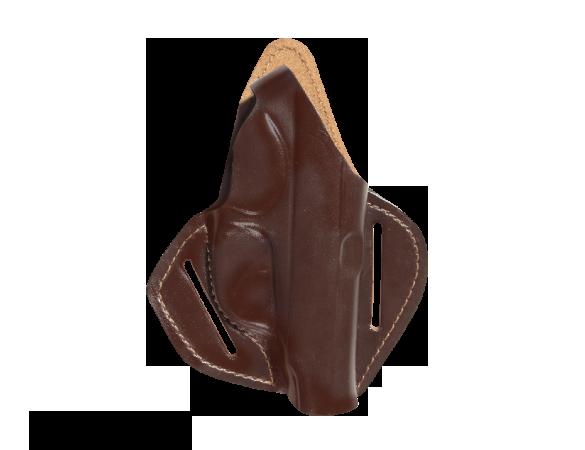 Кобура поясная Патруль ПМ 50 / кожа / коричневый оптом и в розницу