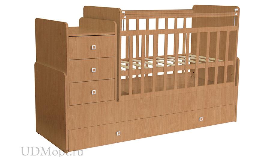 Кровать детская Фея 1100 бук оптом и в розницу