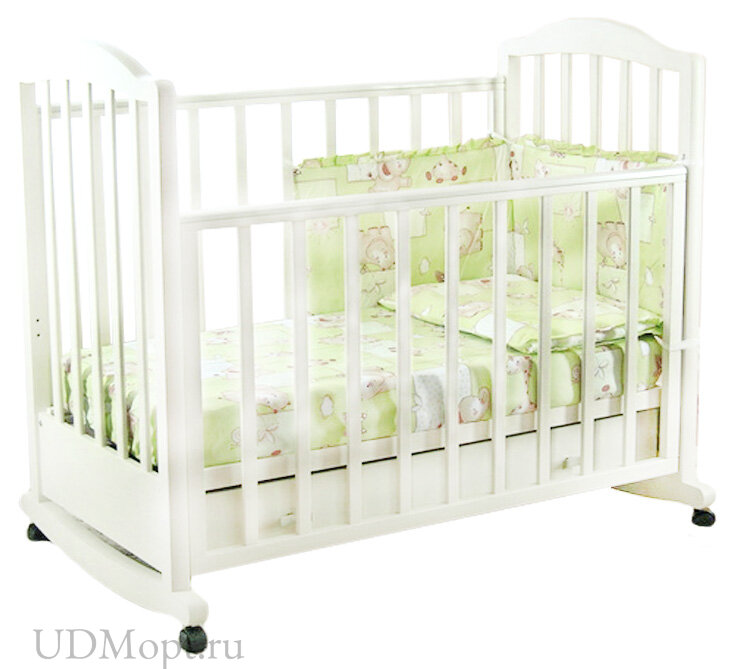 Кровать детская Фея 633 белый оптом и в розницу
