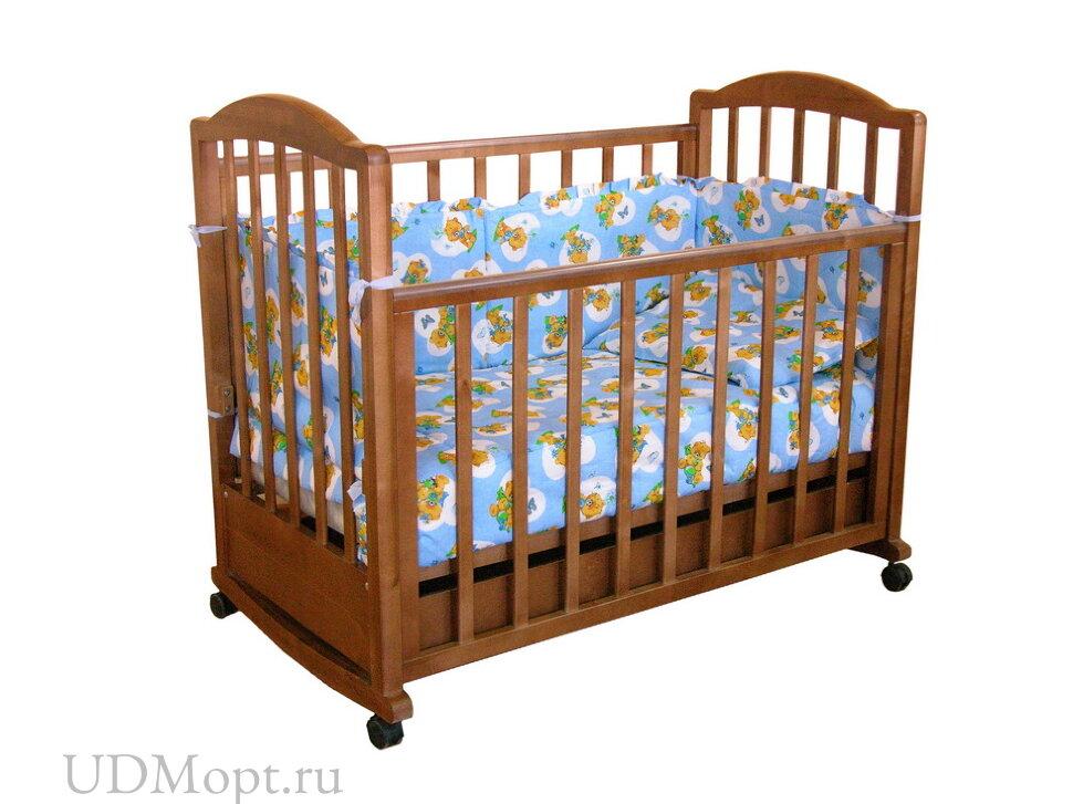 Кровать детская Фея 633 темный мед оптом и в розницу