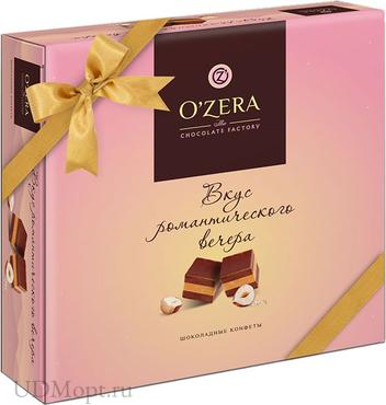 «OZera», конфеты шоколадные «Вкус романтического вечера», 195г оптом и в розницу