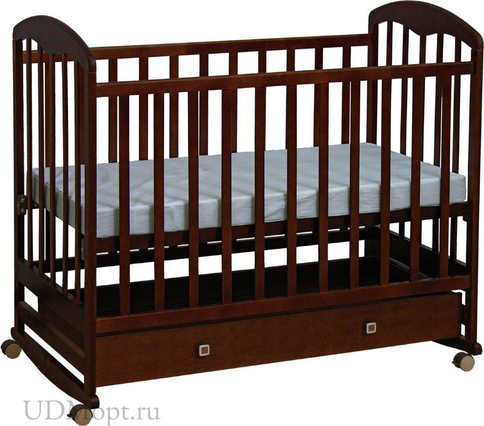 Кроватка детская Polini kids Simple 325, венге оптом и в розницу