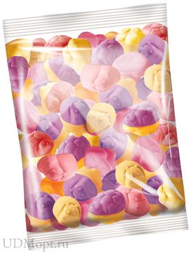 «Бегемотик Бонди», мармелад жевательный с соком ягод и фруктов (упаковка 1кг) оптом и в розницу