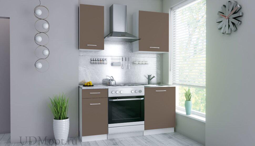 Кухонный гарнитур Polini Home Urban 1600, капучино оптом и в розницу