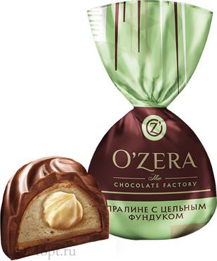 «OZera», конфеты с цельным фундуком (упаковка 1кг) оптом и в розницу