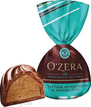 «OZera», конфеты с фундуком и миндалем (упаковка 1кг) оптом и в розницу