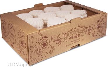 Зефир ванильный (коробка 1кг) оптом и в розницу