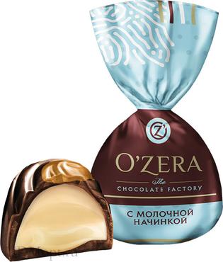 «OZera», конфеты с молочной начинкой (упаковка 1кг) оптом и в розницу