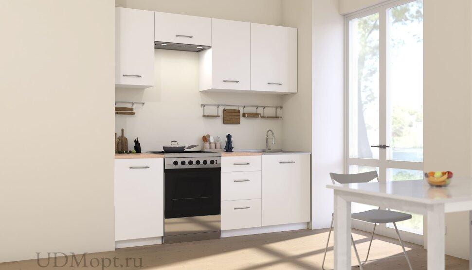 Кухонный гарнитур Polini Home Urban 2100 А,  белый  оптом и в розницу