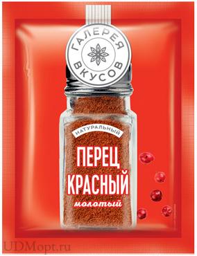 «Галерея вкусов», перец красный молотый, 10г оптом и в розницу