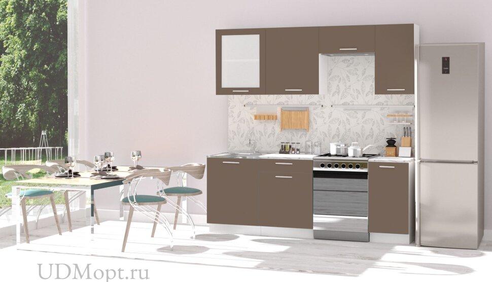 Кухонный гарнитур Polini Home Urban 2200, капучино оптом и в розницу