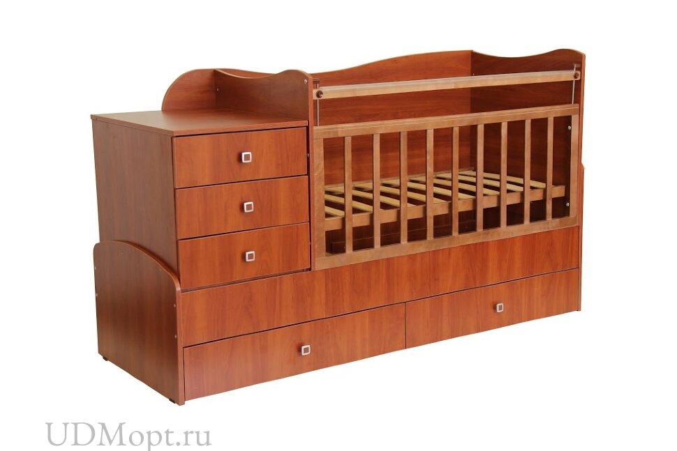 Кровать детская Фея 1400 орех оптом и в розницу