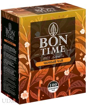 «Bontime», bontime чай черный, 100 пакетиков, 200г оптом и в розницу