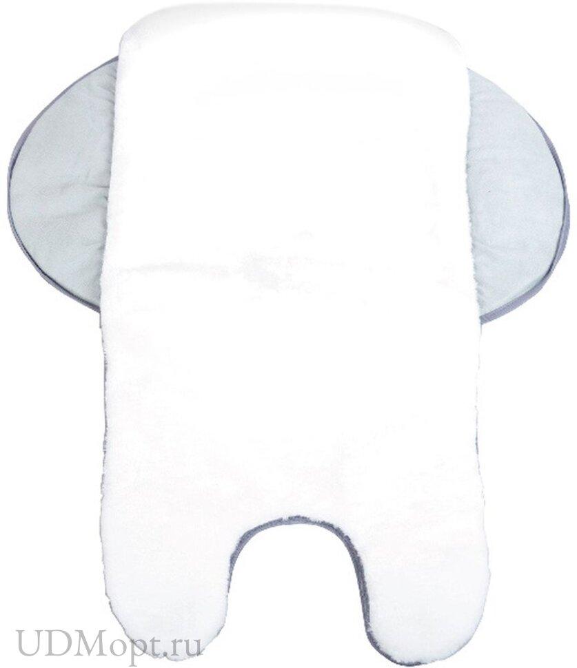 Матрасик универсальный с отворотами Nika МКО-3 Искусственный мех оптом и в розницу