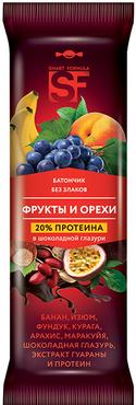 «Smart Formula», батончик фруктовый «Фрукты и орехи», 40г оптом и в розницу