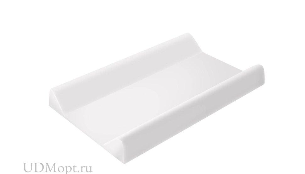Доска пеленальная для комода с ванночкой Polini kids Basic 3275, белый оптом и в розницу