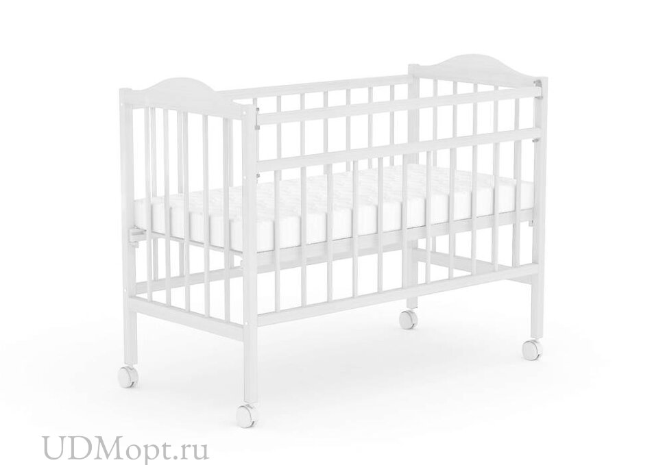 Кровать детская Фея 203 белый оптом и в розницу