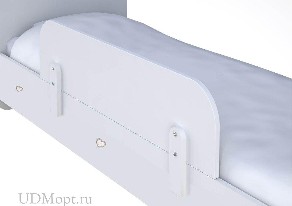 Кроватка детская Polini kids Плюшевые Мишки с комодом, белый-макиато оптом и в розницу