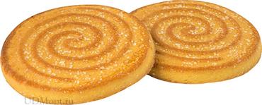 Печенье «Вихарёк» со вкусом апельсина, сахарное (коробка 5кг) оптом и в розницу