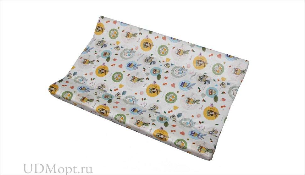 Доска пеленальная для кроватей Polini kids Совы, с фиксатором оптом и в розницу