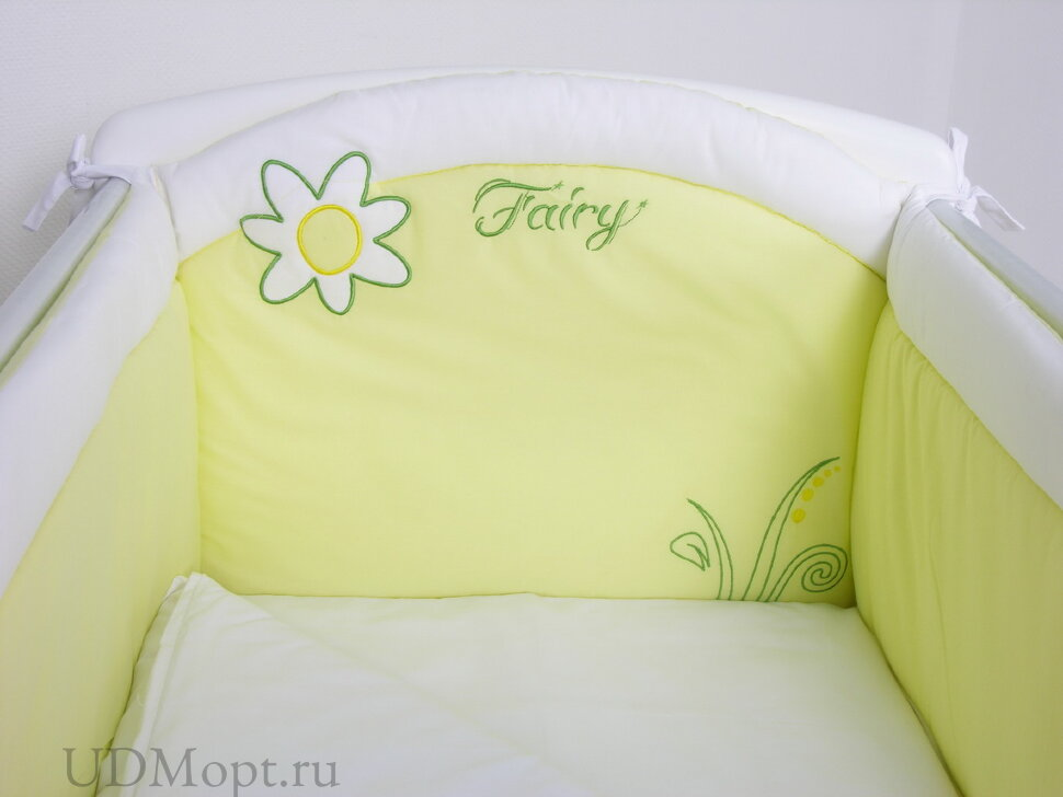 "Борт в кроватку Fairy ""На лугу"" оптом и в розницу"