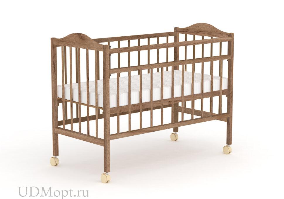 Кровать детская Фея 203, табачный дуб оптом и в розницу