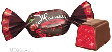 Конфета «Вишня», желейная (упаковка 1кг) оптом и в розницу