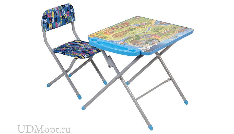 Комплект детской мебели Фея Досуг 201 Железная дорога оптом и в розницу